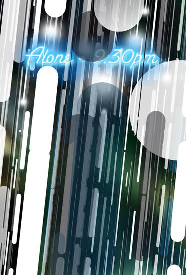 'Alone - 9:30pm (Romance Posters, Series III)', 2012, digital print, 70 x 90 cm