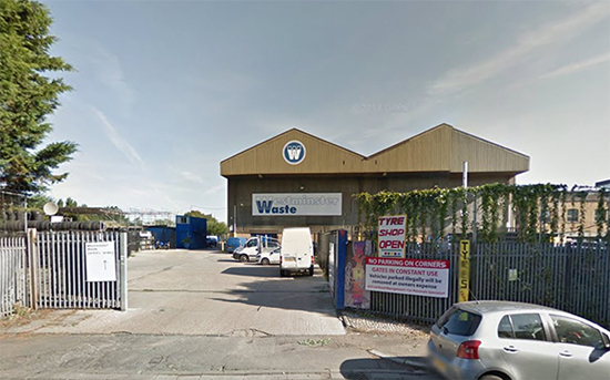 Westminster Waste gallery is situated in a warehouse in the centre of a dry recycling centre in South East London.