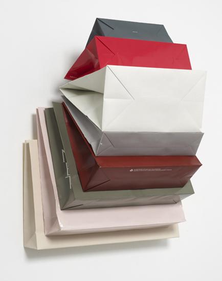 'Muse Privé ~ Air de le Rêve', 2013, Bags, Cardboard, hook, 84 x 62 x 43 cm