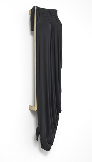 'Desert Siren ~ Mineral Nights', 2013, Viscose jersey, polystyrene, acrylic, wood, 148 x 38 x 33.5 cm