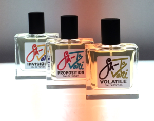 SHATAVARI, a range of three fragrances, 2019